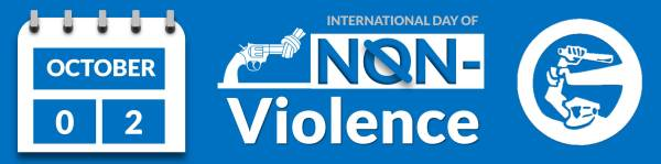 International Day of Non-Violence by the United Nations