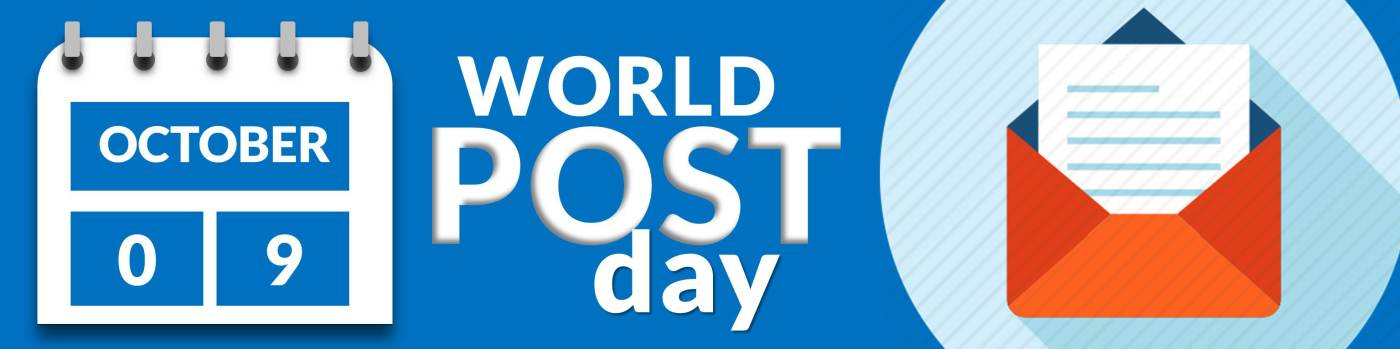 9th October, World Post Day by the United Nations