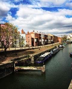 Wapping wharf, Bristol, canal, buildings, FindYourOwnLight