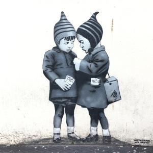 Bansky, Travel, graffiti, Bristol, FindYourOwnLight