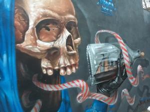 Graffiti, Bristol, street art, travel, FindYourOwnLight